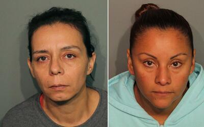 Guadalupe Sierra Arrellano (izq) y Medarda Urbieta (der) fueron arrestad...