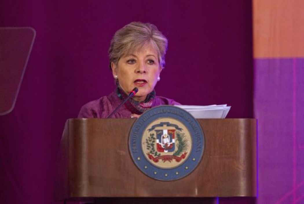 7. Alicia Bárcena. Bióloga, diplomática y Secretaria Ejecutiva de la Cep...
