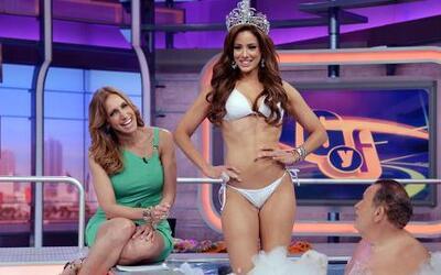 Aleyda Ortíz muy sexy y muy reveladora en el jacuzzi con El Gordo