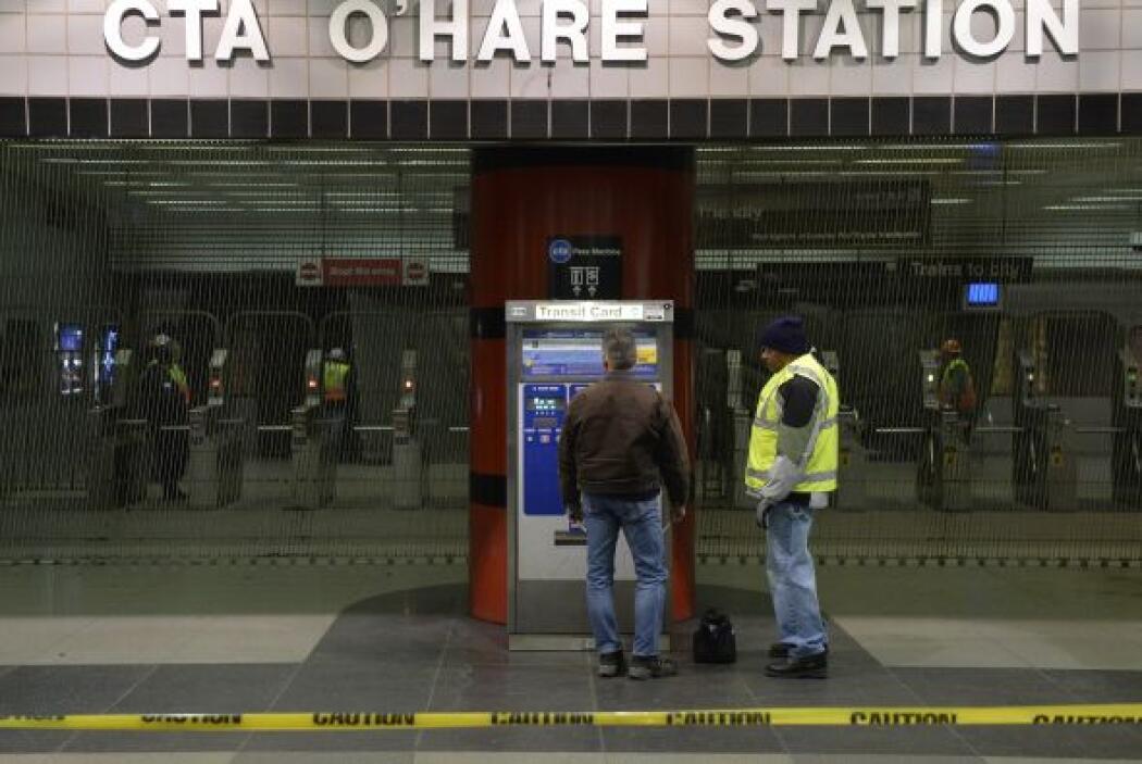 Los investigadores aún están a la espera de que el operador del tren sea...