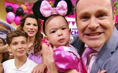 Baby Michelle llegó a celebrar su primer año en Despierta América