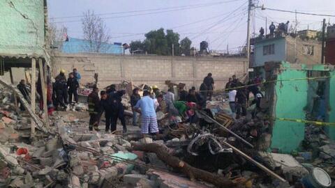 Una tragedia sacude al municipio de Tultepec: una explosión deja cuatro...