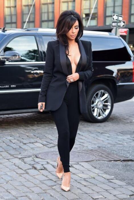 Lo bueno es que su esposo, Kanye West, no es celoso.Más videos de Chisme...