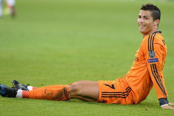 CR7 disputó 47 partidos en la temporada 2013-14 del Real Madrid m...