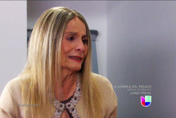 Muy bien doña Rita, dígale que Carlos Horacio es su verdadero hijo.