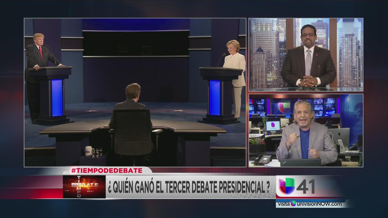 Tiempo de debate: ¿quién ganó el último debate presidencial?