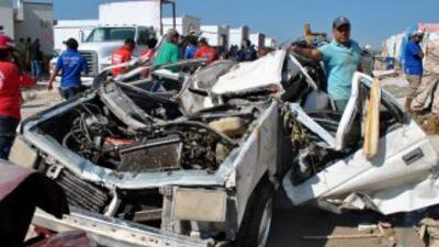 Siguen las labores de rescate tras tornado en Ciudad Acuña