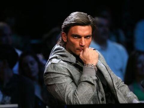 El actor Julián Gil formó parte del jurado de Nuestra Bell...