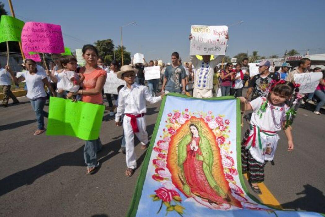 Si bien en la mayoría de las localidades mexicanas la gente sale, camina...