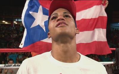 El 'Wonder Boy' José Lopez logró vencer a Roberto Castañeda por decisión...