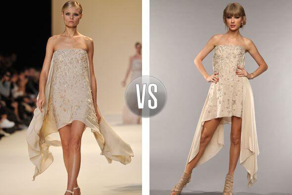 Taylor Swift presumió en los premios CMT este modelito de Elie Saab prim...