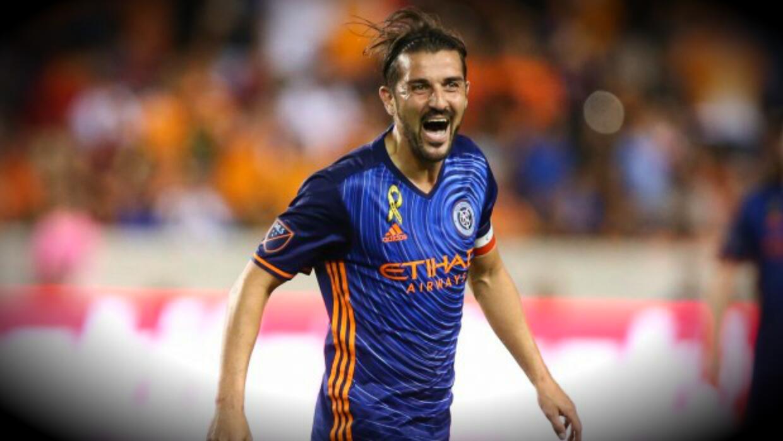 David Villa se robó el show en triunfo de New York City FC 2-0 en casa d...