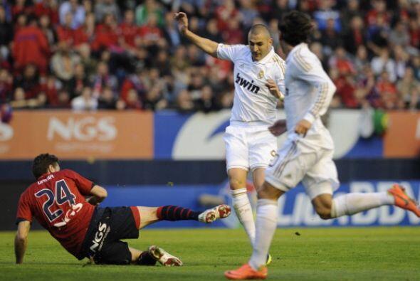 Mourinho puso a Cristiano, Higuaín y Benzema juntos...y tuvo un b...