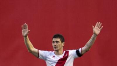 Piti fue el goleador del Rayo en una buena temporada de los vallecanos.