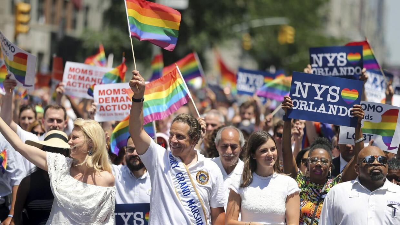 Fuertes medidas de seguridad en el desfile del orgullo gay en Nueva York