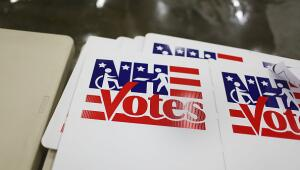 Urnas de votación en New Hampshire