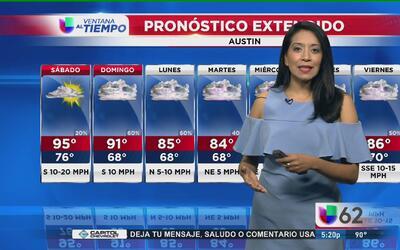 La lluvia regresa a Austin este fin de semana