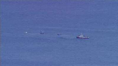 Búsqueda de aeronaves accidentadas frente a la costa de Los Ángeles