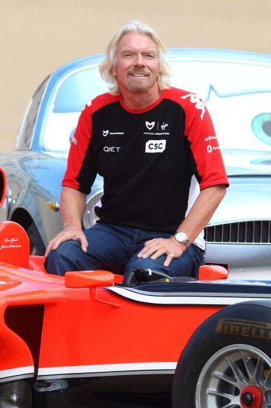 5. Richard Branson: El magnate inglés también forma parte...