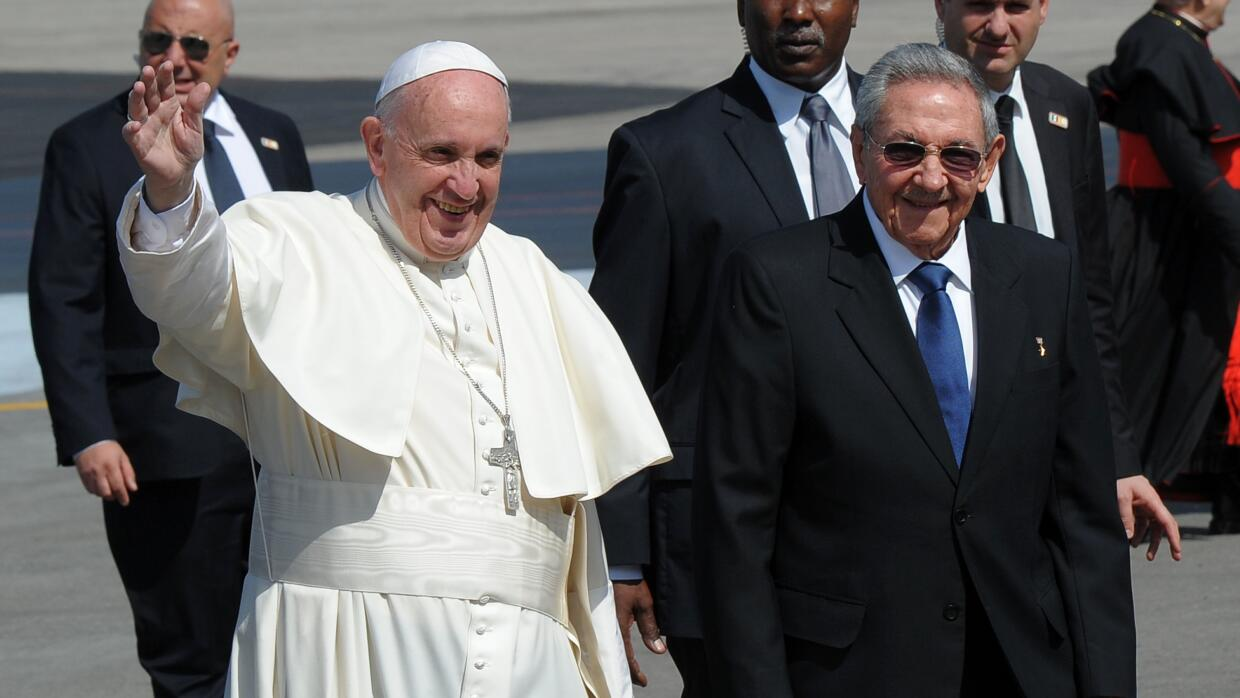 Jorge Ramos: ¿Cuba Libre? GettyImages-Pope-Francis-Raul-Castro-2016.jpg
