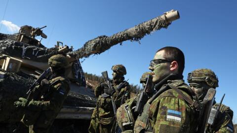 EEUU y Estonia realizan ejercicios militares conjuntos.