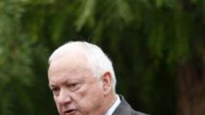 Russell Pearce, presidente del Senado arizonense y promotor de varias le...