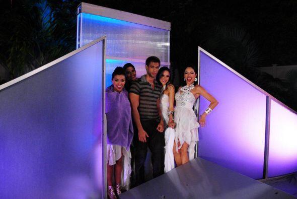 Lilia, Zuleyka, Bárbara y Audris pretendieron ser unas top model...
