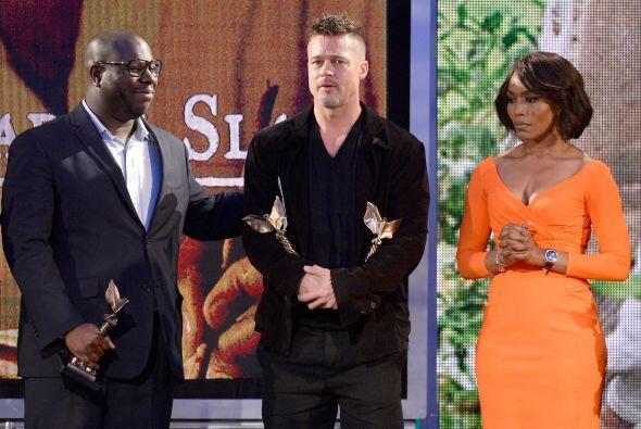 Y, como su productor, Brad Pitt recibió el premio. Mira aqu&iacut...