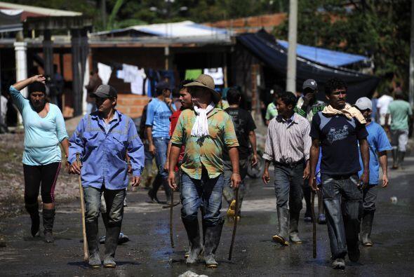 En el Huila se han registrado refriegas entre los manifestantes y la Pol...