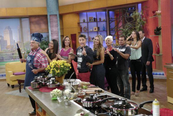En la cocina, El Chef Pepín puso a todos a bailar y cantar. &iexc...