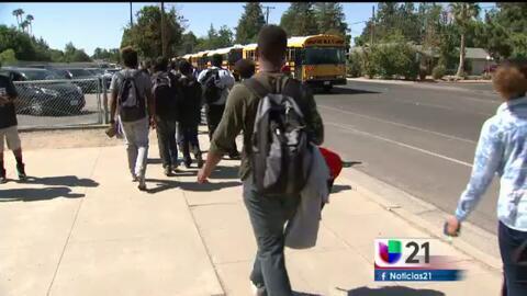 Amenaza de bomba en la escuela secundaria Bullard