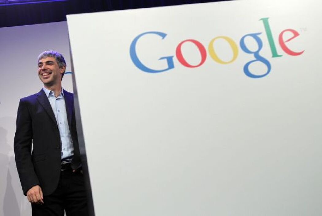 Y en el cuarto lugar quedó Larry Page, uno de los fundadores de Google,...