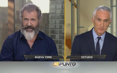 """Mel Gibson: """"Creo que los comentarios de muros son absurdos"""""""