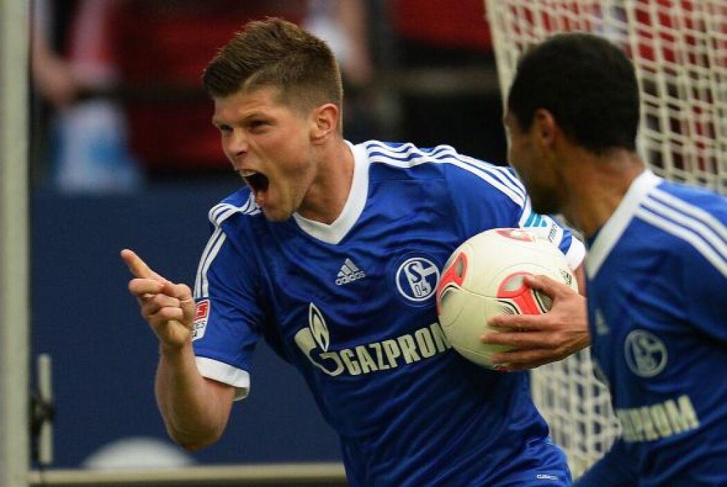 El 'Cazador' del Schalke 04 hizo ni más ni menos que tres goles para que...