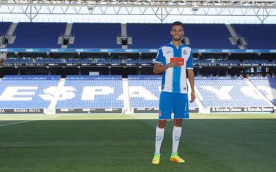 El Espanyol presentó a Diego Reyes