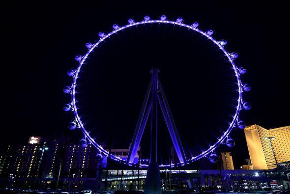 La High Roller supera al Flyer de Singapur, que mide 165 metros (541 pie...