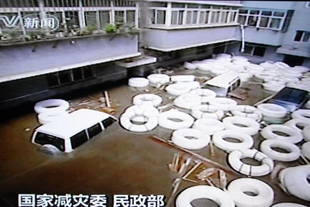 Los daños materiales son considerables: unas 1,4 millones de viviendas h...