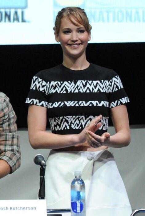 2. Jennifer Lawrence  ¿Cuánto recibió de paga?: $26 millones.