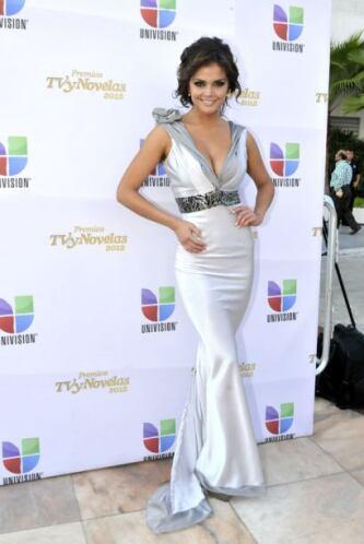 Marisol González no se quedó atrás y alguna vez apareció con este vestid...