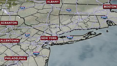 Lunes muy frío, con hielo negro en las vías y fuertes vientos en Nueva York