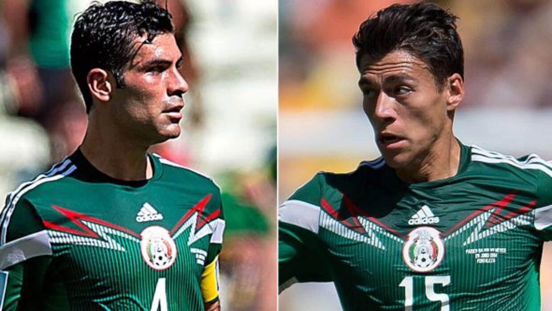 Los centrales Rafa Márquez y Héctor Moreno vuelven a una convocatoria.