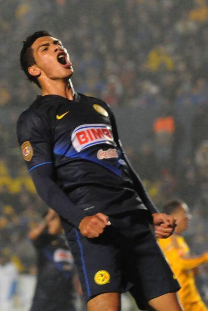 AMÉRICA VS. TOLUCA: Raúl Jiménez.- El centro delantero de las Águilas es...