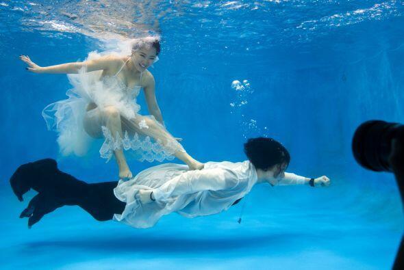 Su boda formal la realizarán en el 2015, pero mientras decidieron hacer...