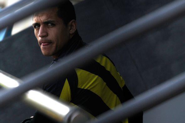 Con goles en seis de sus últimos ocho juegos, el chileno Alexis S...
