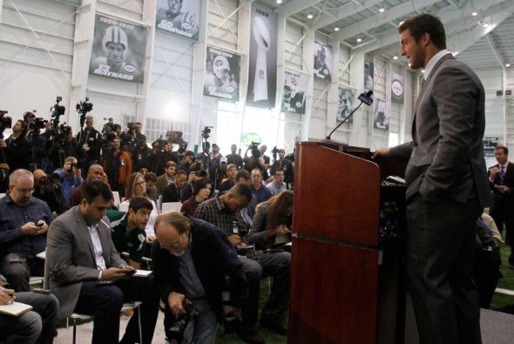 Los Jets convocaron una rueda de prensa donde varios medios pudieron hac...