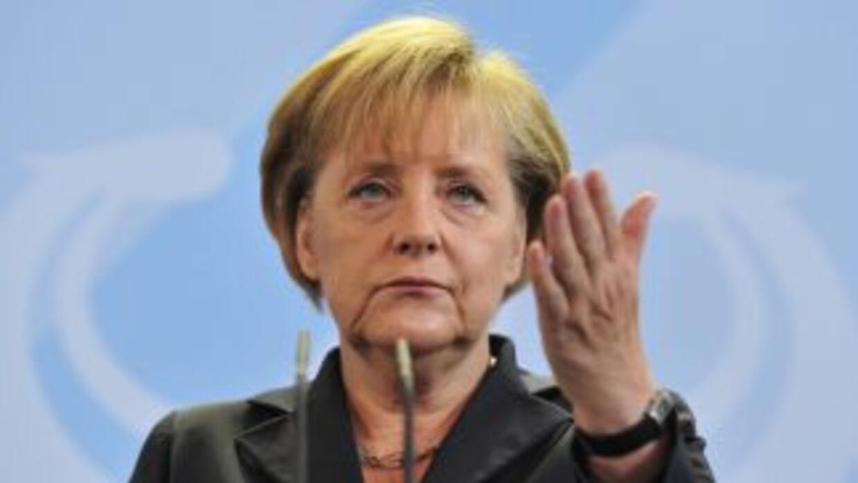 La Canciller alemana Angela Merkel pedirá a los gobernantes del mundo un...