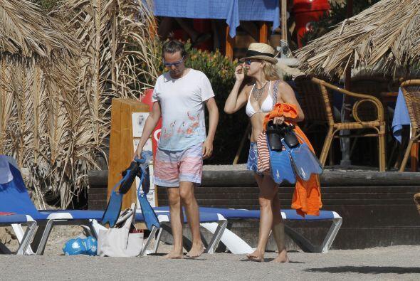 La bella actriz estuvo casada con Chris Robinson, con quien tuvo un hijo...