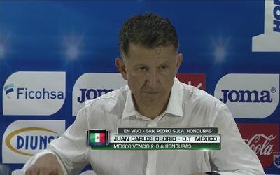 """Osorio: """"No me gustó la forma en la que salíamos jugando"""""""
