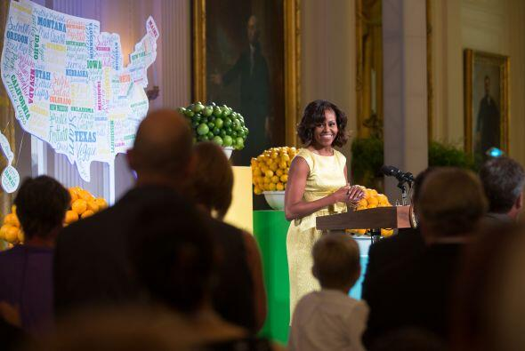 Michelle Obama, primera dama de Estados Unidos, decidió compartir el men...