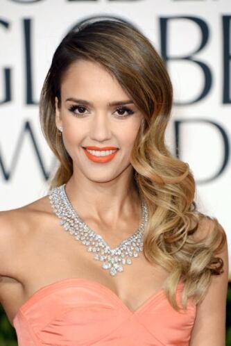 Jessica Alba, otra actriz de origen latino que ha destacado por su belleza.